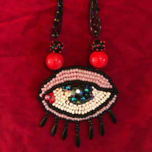 Eye See You necklace by K.S. Lewis
